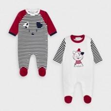 Комплект для новорожденного Mayoral (Майорал) красного оттенка