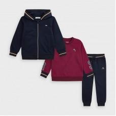 Две толстовки и брюки для мальчика Mayoral (Майорал)  темно-синий оттенок