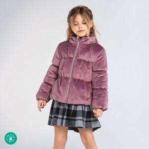 Куртка на девочку Mayoral(Майорал) для девочки лилово-розовый оттенок