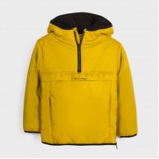 Куртка-анорак для мальчика Mayoral (Майорал) пшеничного оттенка