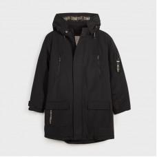Куртка-парка на мальчика Mayoral (Майорал) черный оттенок