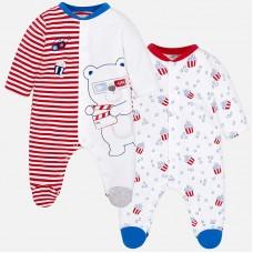 Оригинальный набор из двух штук для новорожденного мальчика.