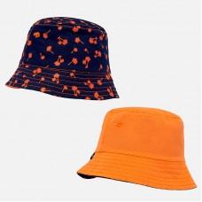 Двусторонняя шапочка для мальчика