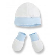 Комплект для новорожденного ( шапочка+ варежки) Mayoral.