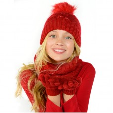 Комплект (шапка+ шарф+ перчатки )Mayoral