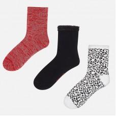 Набор из 3 пар носок для девочки Mayoral