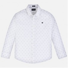 Рубашка  Mayoral (Майорал) на мальчика молочного оттенка