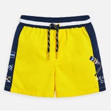 Шорты плавательные Mayoral (Майорал) для мальчика желтого оттенка