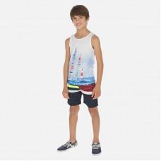 Шорты плавательные Mayoral (Майорал) для мальчика синего оттенка
