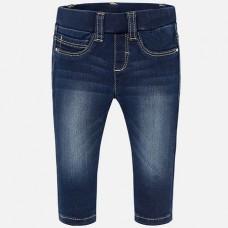 Брюки-легинсы из эластичной джинсовой ткани Mayoral.