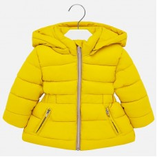 Куртка Mayoral(Майорал) для девочки лимонного оттенка
