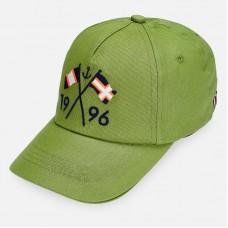 Бейсболка Mayoral (Майорал) для мальчика зеленого оттенка