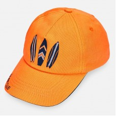 Бейсболка Mayoral (Майорал) для мальчика оранжевого оттенка