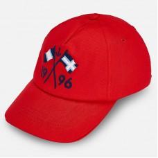 Бейсболка Mayoral (Майорал) для мальчика красного оттенка