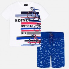 Комплект футболка и бермуды для мальчика Mayoral