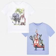 """Комплект футболок """"животное"""" для мальчика Mayoral"""