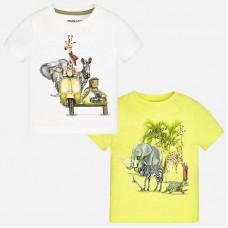 Комплект из 2-х футболок для мальчика Mayoral