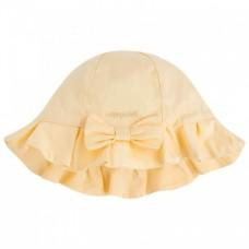 Панама для девочки Mayoral (Майорал) желтого оттенка