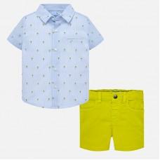 Рубашка и шорты для мальчика Mayoral