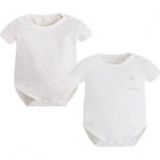 Боди в наборе для новорожденного Mayoral (Майорал) кремовый оттенок