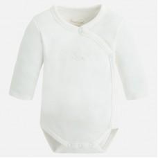 Боди для новорожденного Mayoral (Майорал) молочного оттенка