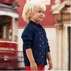 Рубашка- поло с коротким рукавом для мальчика Mayoral