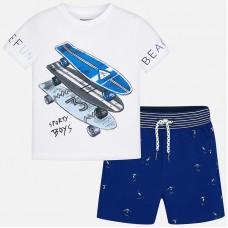 Комплект на мальчика ( футболка+шорты) Mayoral