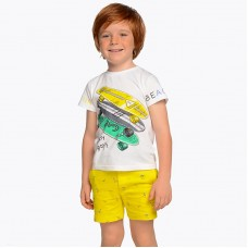 Комплект футболка с принтом и шорты Mayoral
