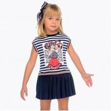 Платье Mayoral (Майорал) для девочки полосатый оттенок