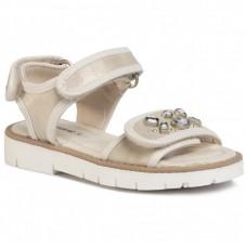 Спортивный сандалии для девочки Mayoral молочного оттенка