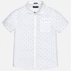 Рубашка с коротким рукавом  для мальчика Mayoral 6142