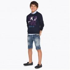 Шорты джинсовые для мальчика Mayoral 6224