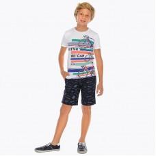 Комплект футболка и шорты-бермуды для мальчика Mayoral