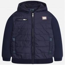 Стильная трикотажная куртка для мальчика-подростка Mayoral 7427
