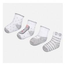 Комплект из четырех пар носков для девочки