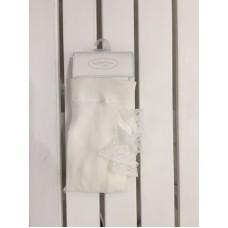 Колготки для девочки Mayoral (Майорал) молочный оттенка