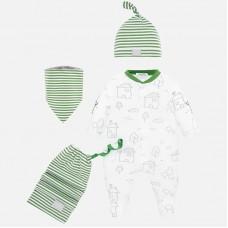 Комплект для новорожденного Mayoral (Майорал) оттенок киви