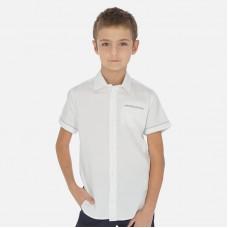 Сорочка Mayoral (Майорал) на мальчика молочного оттенка