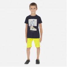 Шорты Mayoral (Майорал) для мальчика лимонного оттенка