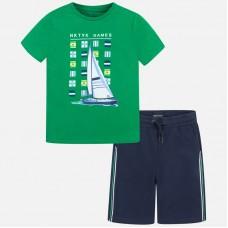 Комплект Mayoral (Майорал) для мальчика зеленого оттенка