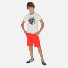 Комплект Mayoral (Майорал) для мальчика красного оттенка