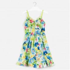 Платье Mayoral (Майорал) для девочки цветной принт