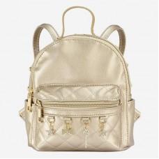 Рюкзак для девочки Mayoral (Майорал) золотистого оттенка