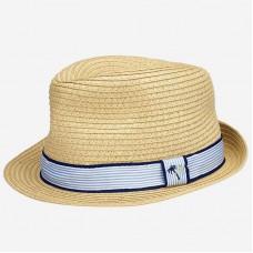 Шляпа Mayoral (Майорал) для мальчика соломенный оттенок