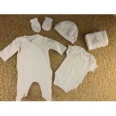 Комплект для новорожденного Mayoral (Майорал) молочного оттенка