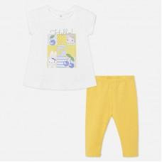 Комплект на девочку Mayoral (Майорал) лимонного оттенка