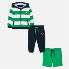 Спортивный костюм Майорал (Майорал) на мальчика зеленого оттенка