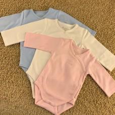 Боди для новорожденного Mayoral (Майорал) розового оттенка