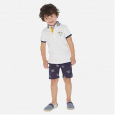 Бермуды на мальчика Mayoral (Майорал) синего оттенка