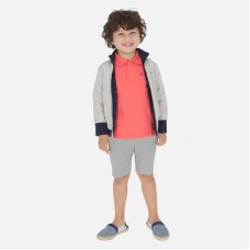 Шорты классические Mayoral (Майорал) для мальчика серый оттенок